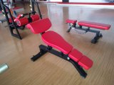 Professional Exercise Machine Adjustable Decline Bench, Fitness Gym Equipment