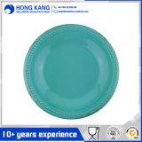 Eco-Friendly Round Rustic Vintage Melamine Plate