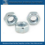 White Zinc Plated Bsw Hex Nut