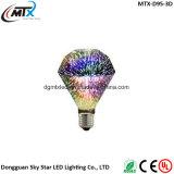 110V 220V Creative Unique LED Filament 2W 3D Fireworks Light