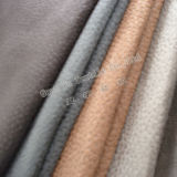 Upholstery Home Textile Suede Sofa Fabric Embossed with Brushed Backing