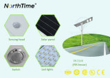 All in One Solar Street Light with Ce RoHS IP65 Certificates