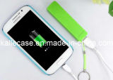 Hot Sale 2600mAh Colorful Portable Mobile Power Bank (KT-EA612)