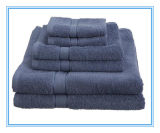 Navy Blue Bath Towel for Hotel Pool Towel (DPF201616)