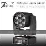 Mini LED 7X12W Zoom Moving Head Wash Lighting