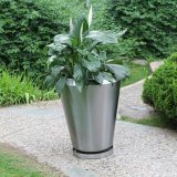 (FO-9045) Customized Stainless Steel Large Flower Vase, Metal Planter