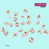 Promotional 8mm DIY Slide Letter Charms for Bracelet