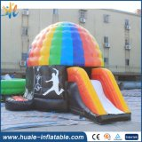 Hot Selling Inflatable Bouncer Disco Dome with Slide for Jumping
