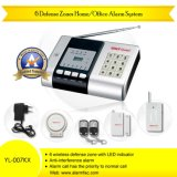 Auto-Dial Phone Line House Safety Security Alarm System (YL-007KX)