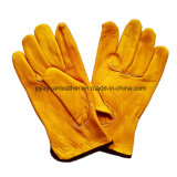 Cowhide Driver Protection Safety Work Glove