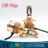 4800lm Auot Accessories H4 Light H1 LED Car Bulb