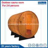 20 Years Factory Red Cedar Sauna Barrel Outdoor Sauna Rrom