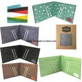 Eco-Friendly DuPont RFID Bifold Card Holder Wallet for Men Women