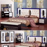 Bedroom Furniture Set with Classic Bed and Wardrobe (3361)