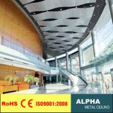 Aluminum Metal Indoor Outdoor Decorated Flase Suspended Ceilings