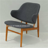 Lounge Solid Wood Kofod Larsen Easy Chair with Leather (SP-EC706)
