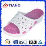 High Heel Woman Slipper with Soft Footbed