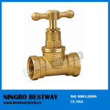 Brass Water Stop Valve Direct Factory (BW-S01)