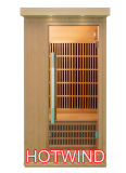 2016 Far Infrared Sauna Wooden Sauna Portable Sauna Room for 1 People (SEK-BT1)
