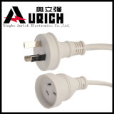 Australian Three Pins Transparent Extension Cord with SAA Certification