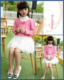 2015 Children′s Wear The New Lace Dresses Two-Piece Children′s Princess Dress