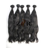 Natural Virgin Peruvian Hair Wavy Human Hair Weaves