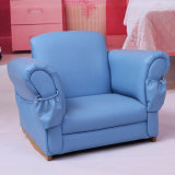Children Home Furniture with Size Pocket/Kids Leather Sofa (SXBB-52)