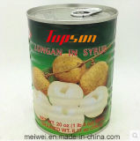 Easy Open Lid Canned Longan with Best Quality