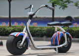 2016 Popular Harley Style Electric Scooter with Big Wheels