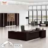 Fsc Forest Certified New Fashion Design Office Executive Melamine Office Desk with L Shape Return (H80-0161)