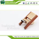 Natural Wooden Swivel USB Disk 256GB