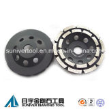 Diamond Double Row Grinding Cup Wheels for Concrete