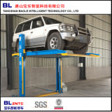 Two Post Simple Lifting Automatic Car Elevator Parking System