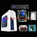 OEM Desktop Computer DJ-C007 with H61 Chipset Motherboard, DDR3 2GB 1066/1333MHz