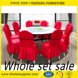 Restaurant Used Round Banquet Tables and Chairs for Sale