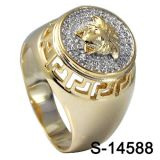 Hip Hop Jewelry 925 Sterling Silver Ring for Man