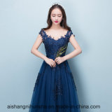 New Style Sexy Sweetheart Navy Blue Evening Dresses