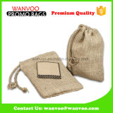 Eco-Friendly Coffee Bean Bag with Drawstring Closure