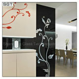 Color Pattern Lacquered Paint Glass for Decoration