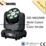 5X10W+10W Beam Wash 60W Mini LED Moving Head Light