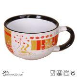 Hot Sale 16oz Big Ceramic Soup Mug