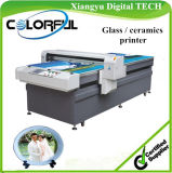 Flat Glass Digital Printing Machine, Glass Plotter Print (Colorful 1225)