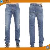 Custom Men Straight Fit Washed Basic Denim Jeans