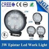 15W/18W/24W/27W LED Driving Light Auto Car Accessory