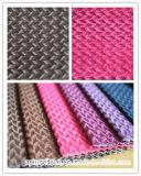 Two Tone Cation Dyed Sofa Fabric with Brushed Finishing