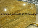 Imported Imperial Gold Granite Gang Saw Slab