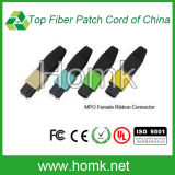 MPO Female Ribbon Fiber Optic Connector