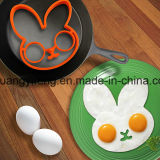 Funny Eco-Friendly Rabbit Shaped Silicone Rubber Egg Omelette Mould