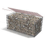China Wholesale Galvanized Welded Gabion Cage Box (WGCB)