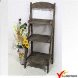 Decorative Antique Wooden Ladder Plant Stands